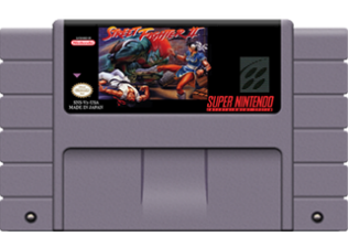 Street Fighter 2 (Nintendo SNES, 1992)