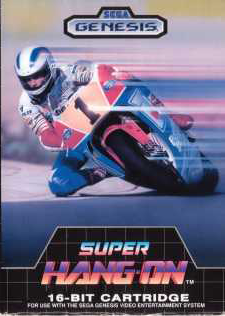 Super Hang-On (Sega Genesis, 1989)