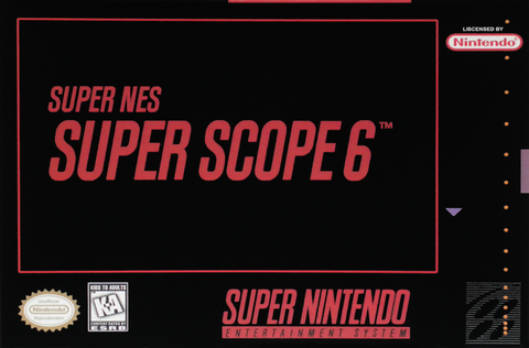 Super Scope 6 (Nintendo SNES, 1992)