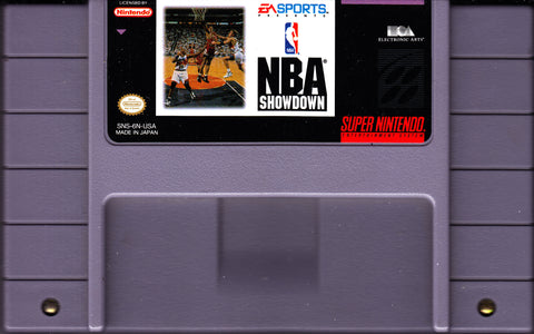 NBA Showdown (Nintendo SNES, 1993)