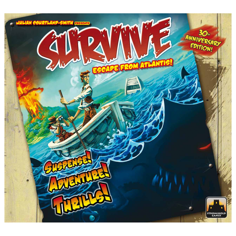 Survive: Escape from Atlantis! - Board Game (Stronghold Games)