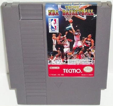 Tecmo NBA Basketball (Nintendo NES, 1992)