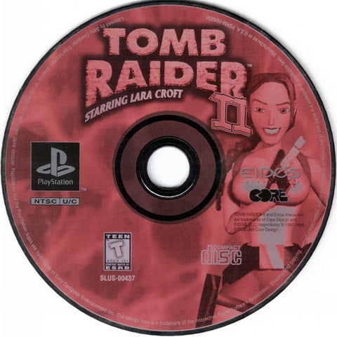 Tomb Raider 2 Sony Playstation 1997 Red Ant Retro
