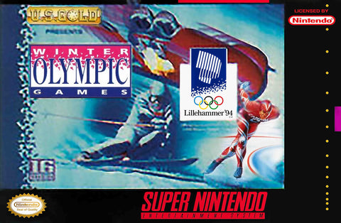 Winter Olympic Games (Nintendo SNES, 1994)