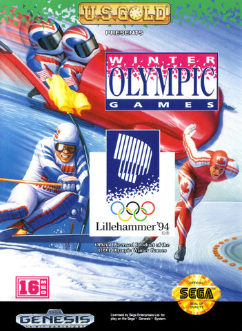 Winter Olympic Games: Lillehammer 94 (Sega Genesis, 1993)