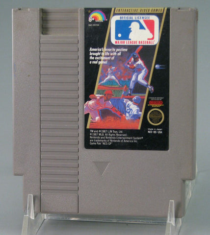 Major League Baseball (Nintendo NES, 1988)