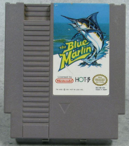 Blue Marlin, The (Nintendo NES, 1992)