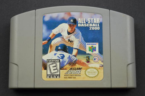 All-Star Baseball 2000 (Nintendo N64, 1999)
