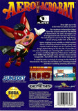 Aero The Acro-Bat (Sega Genesis, 1993)