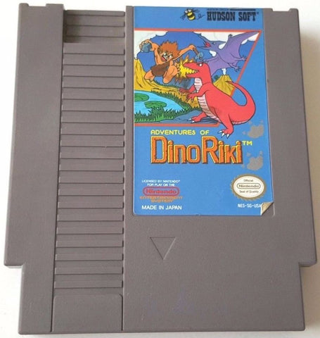 Adventures of Dino-Riki (Nintendo NES, 1989)