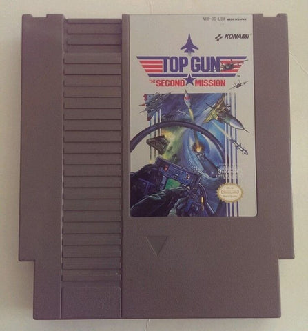 Top Gun: The Second Mission (Nintendo NES, 1990)
