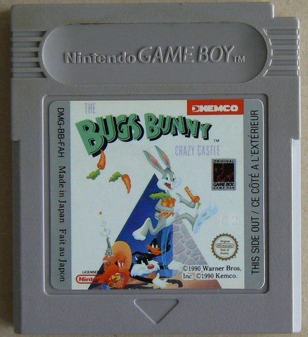 Bugs Bunny Crazy Castle (Nintendo Game Boy, 1990)