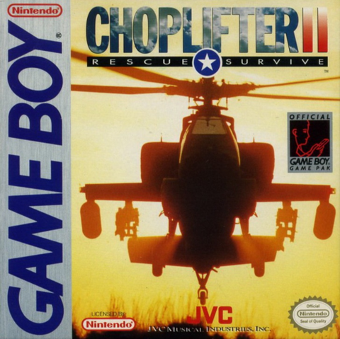 Choplifter 2 (Nintendo Game Boy, 1991)