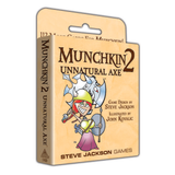 Munchkin 2: Unnatural Axe - Card Game Expansion (Steve Jackson Games)
