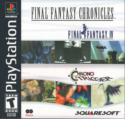 Final Fantasy Chronicles (Sony PlayStation, 2001)