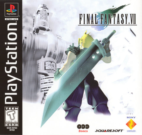 Final Fantasy 7 (Sony PlayStation, 1997)