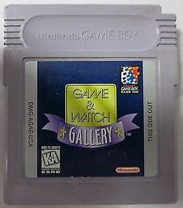 Game & Watch Gallery (Nintendo Game Boy, 1997)