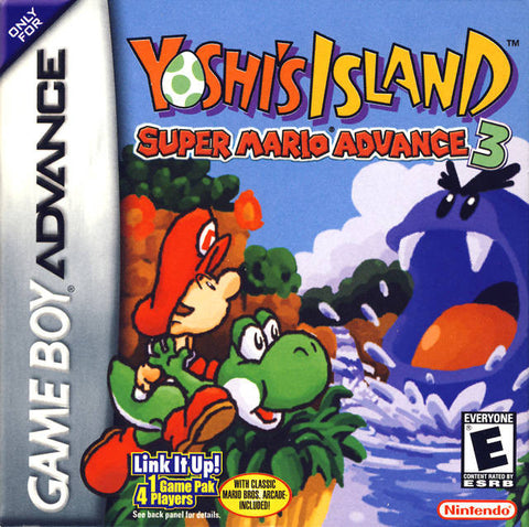 Super Mario Advance 3: Yoshi's Island (Nintendo Game Boy Advance, 2002)