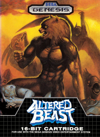 Altered Beast (Sega Genesis, 1989)