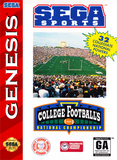 College Football's National Championship (Sega Genesis, 1994)