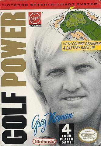 Greg Norman's Golf Power (Nintendo NES, 1992)