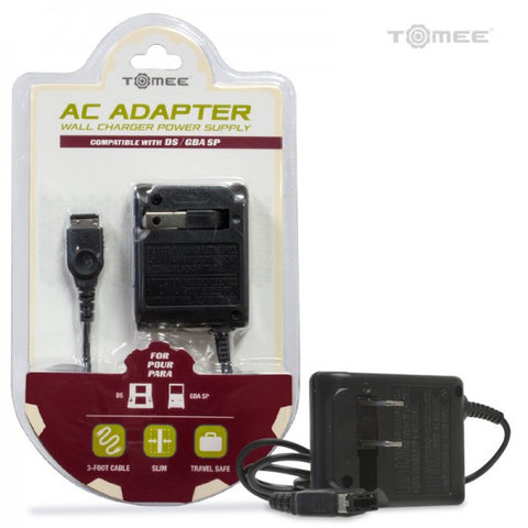 Replacement Parts: New Game Boy Advance SP Power Adapter (Tomee)