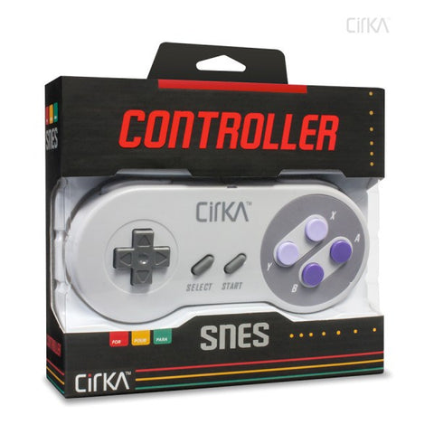 "Super Nintendo Entertainment System - SNES ""S91"" Premium Controller (CirKa)"