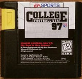 College Football USA 97: The Road to New Orleans (Sega Genesis, 1996)