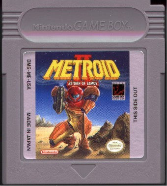 Metroid 2: Return of Samus (Nintendo Game Boy, 1991)