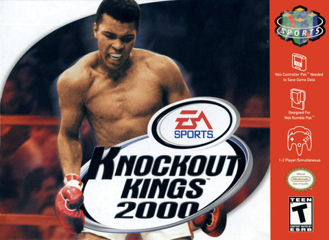 Knockout Kings 2000 (Nintendo N64, 1999)