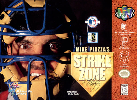 Mike Piazza's Strike Zone (Nintendo N64, 1998)