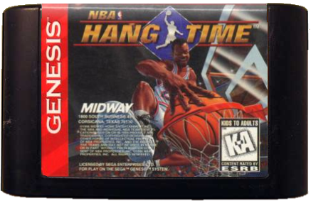 NBA Hang Time (Sega Genesis, 1996)
