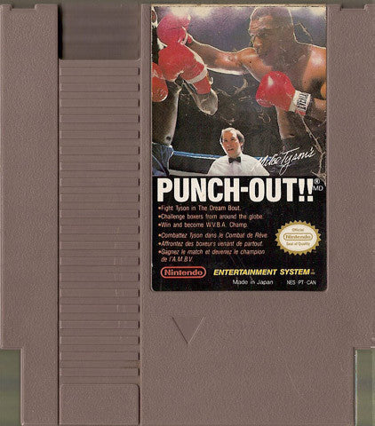 Punch Out!!, Mike Tyson's (Nintendo NES, 1987)