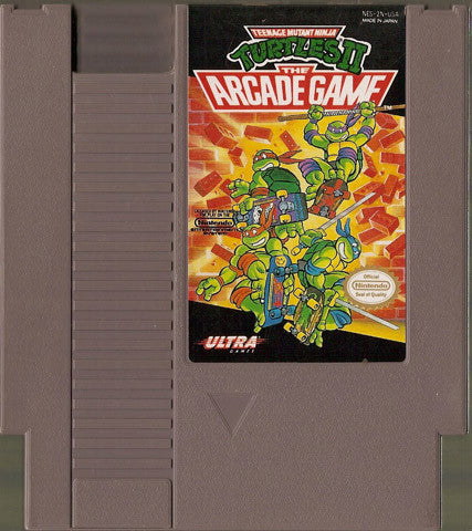 Teenage Mutant Ninja Turtles 2: The Arcade Game (Nintendo NES, 1990)