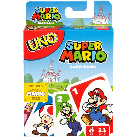 UNO: Super Mario - Card Game (Mattel Games)