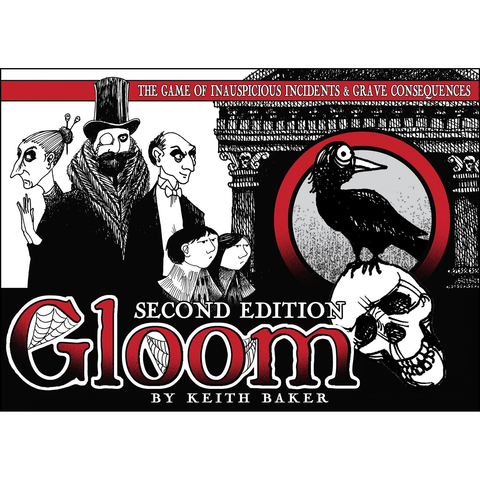 Gloom (Second Edition) - Card Game (Atlas Games)