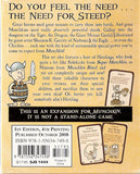 Munchkin 4: The Need for Steed - Card Game Expansion (Steve Jackson Games)
