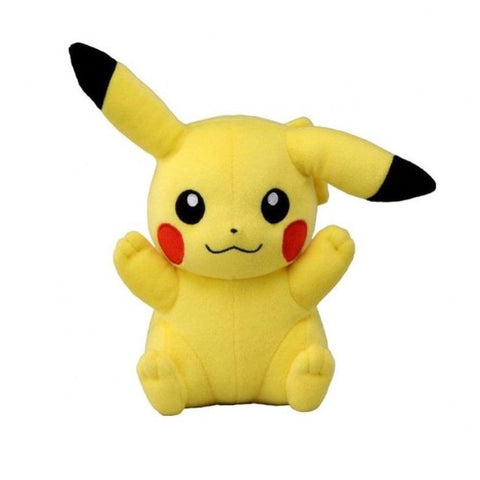 "Pikachu Hands Up Smile 8"" Plush - Plush (Tomy)"