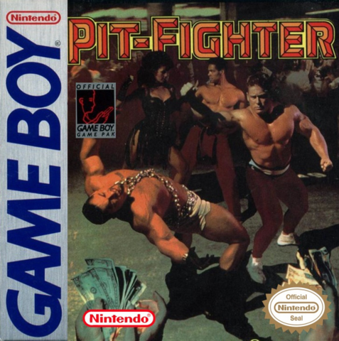 Pit-Fighter (Nintendo Game Boy, 1992)