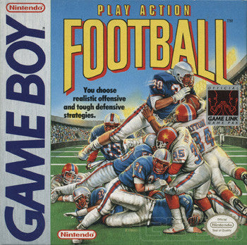 Play Action Football (Nintendo Game Boy, 1990)