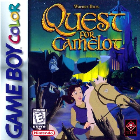 Quest for Camelot (Nintendo Game Boy Color, 1998)