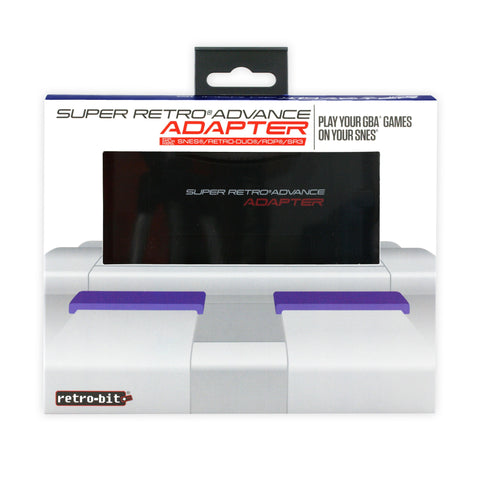 Super Retro Advance Adapter - Cartridge Adapter (Retro-Bit)