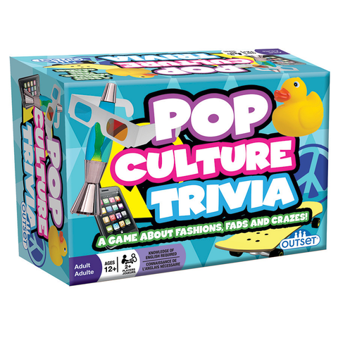 Pop Culture Trivia - Card Game (Outset)