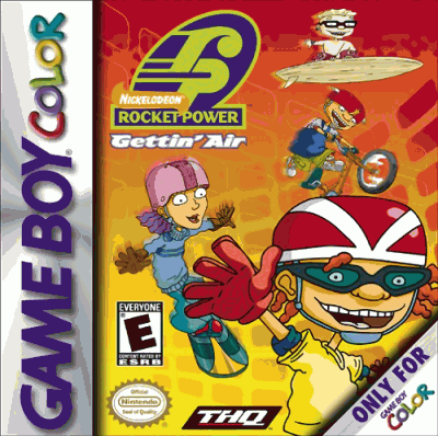 Rocket Power: Gettin' Air (Nintendo Game Boy Color, 2001)