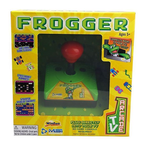 Frogger TV Arcade - Console (MSI Entertainment)