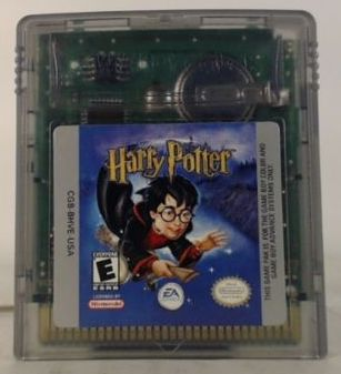 Harry Potter Sorcerers Stone (Nintendo Game Boy Color, 2001)