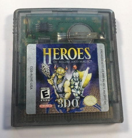 Heroes of Might and Magic (Nintendo Game Boy Color, 2000)