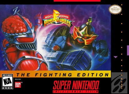 Mighty Morphin Power Rangers: The Fighting Edition (Nintendo SNES, 1995)