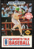 Sports Talk Baseball (Sega Genesis, 1992)
