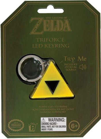 The Legend Of Zelda Triforce LED Keyring - Keychains (Paladone)